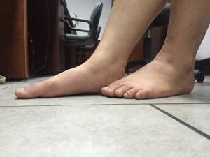 Hình £nh bàn chân b¹t- ¢nh: DiÇu NguyÅn